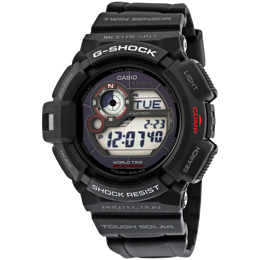 นาฬิกา คาสิโอ Casio G-Shock Professional MUDMAN - MUD RESIST รุ่น G-9300-1 สินค้าใหม่ ของแท้ ราคาถูก พร้อมใบรับประกัน