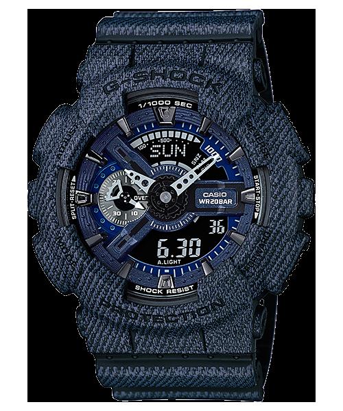 นาฬิกา คาสิโอ Casio G-Shock Limited Models Denim color Series รุ่น GA-110DC-1A สินค้าใหม่ ของแท้ ราคาถูก พร้อมใบรับประกัน