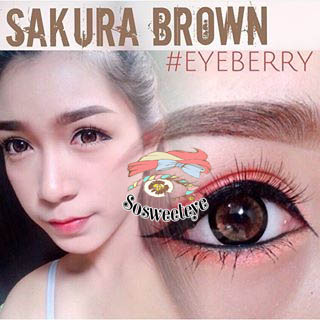 สายตาสั้น/POWER -475 SAKURA BROWN EYEBERRYLENS