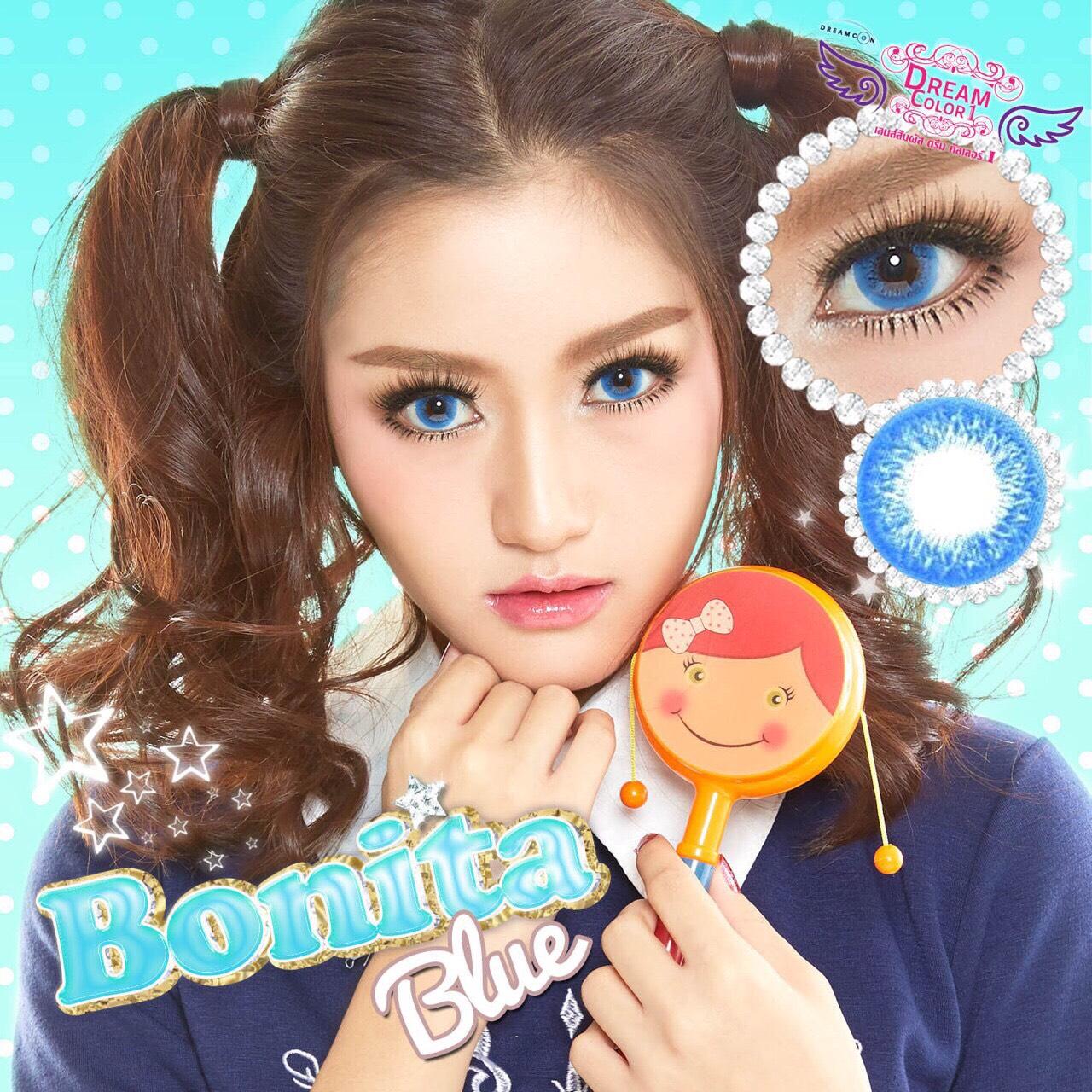 Bonita Blue Dreamcolor1เลนส์นิ่มใส่สบาย คอนแทคเลนส์ ขายส่งคอนแทคเลนส์ ขายส่งBigeye Bigeyeเกาหลี