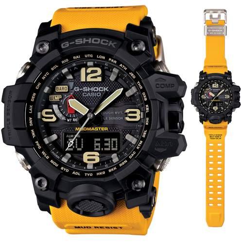 นาฬิกา คาสิโอ Casio G-Shock Mudmaster Triple Sensor รุ่น GWG-1000-1A9 สินค้าใหม่ ของแท้ ราคาถูก พร้อมใบรับประกัน