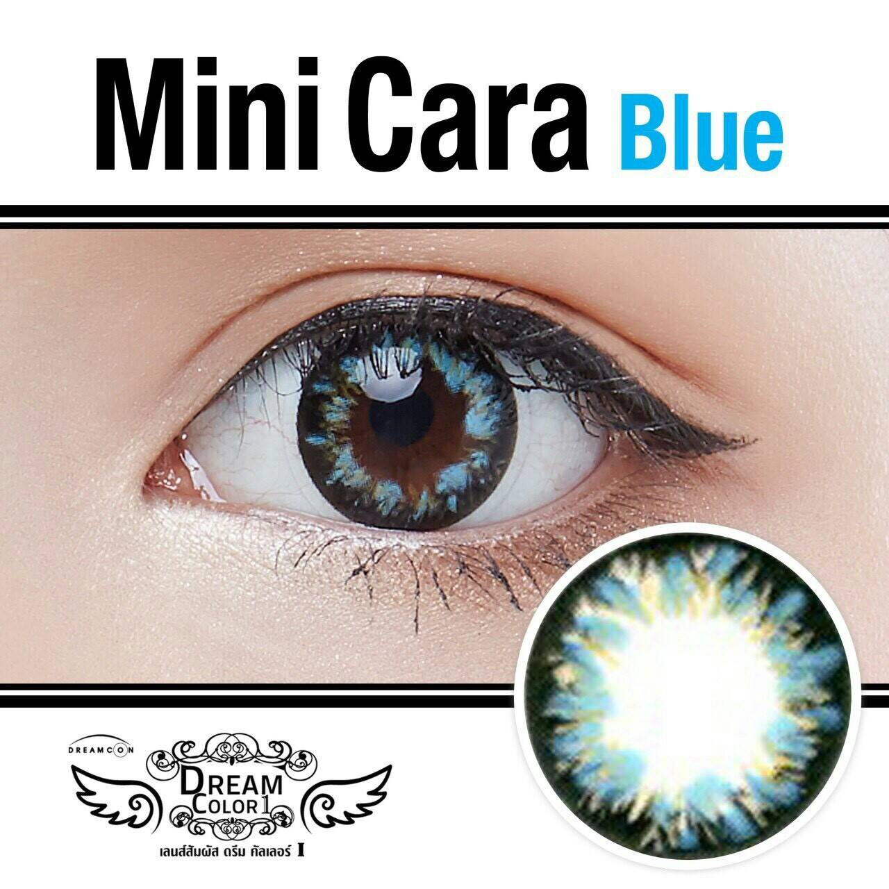 Mini Cara Blue Dreamcolor1เลนส์นิ่มใส่สบาย คอนแทคเลนส์ ขายส่งคอนแทคเลนส์ ขายส่งBigeye Bigeyeเกาหลี
