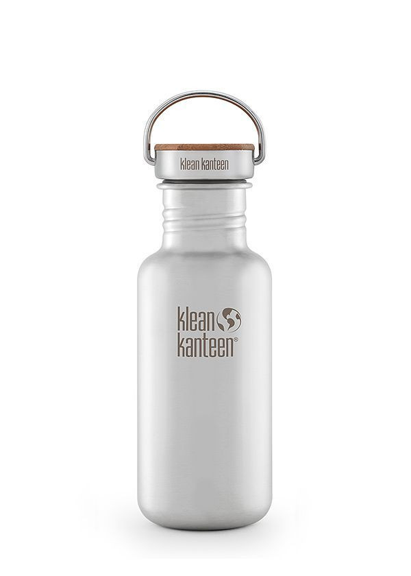 Klean Kanteen® Classic Reflect brushed stainless 18oz