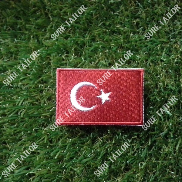อาร์มปักธงตุรกี