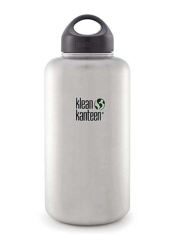 Kanteen® Wide brushed stainless 64oz