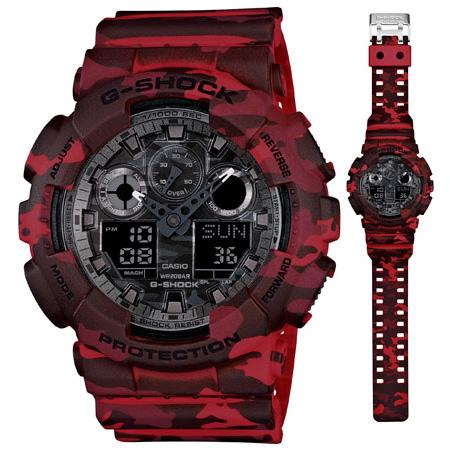 นาฬิกา คาสิโอ Casio G-Shock Special Color Models รุ่น GA-100CM-4A สินค้าใหม่ ของแท้ ราคาถูก พร้อมใบรับประกัน