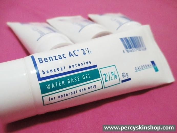 Benzac AC 2.5% (เบนแซค 2.5%) 60 กรัม ครีมทาก่อนล้างหน้าช่วยละลายสิวอุดตัน ลดการอักเสบ ฆ่าเชื้อสิว P.acne