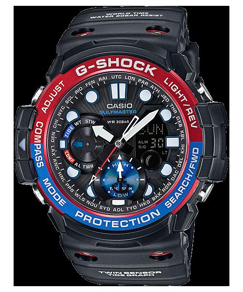 นาฬิกา คาสิโอ Casio G-Shock Gulfmaster Twin Sensor รุ่น GN-1000-1A สินค้าใหม่ ของแท้ ราคาถูก พร้อมใบรับประกัน