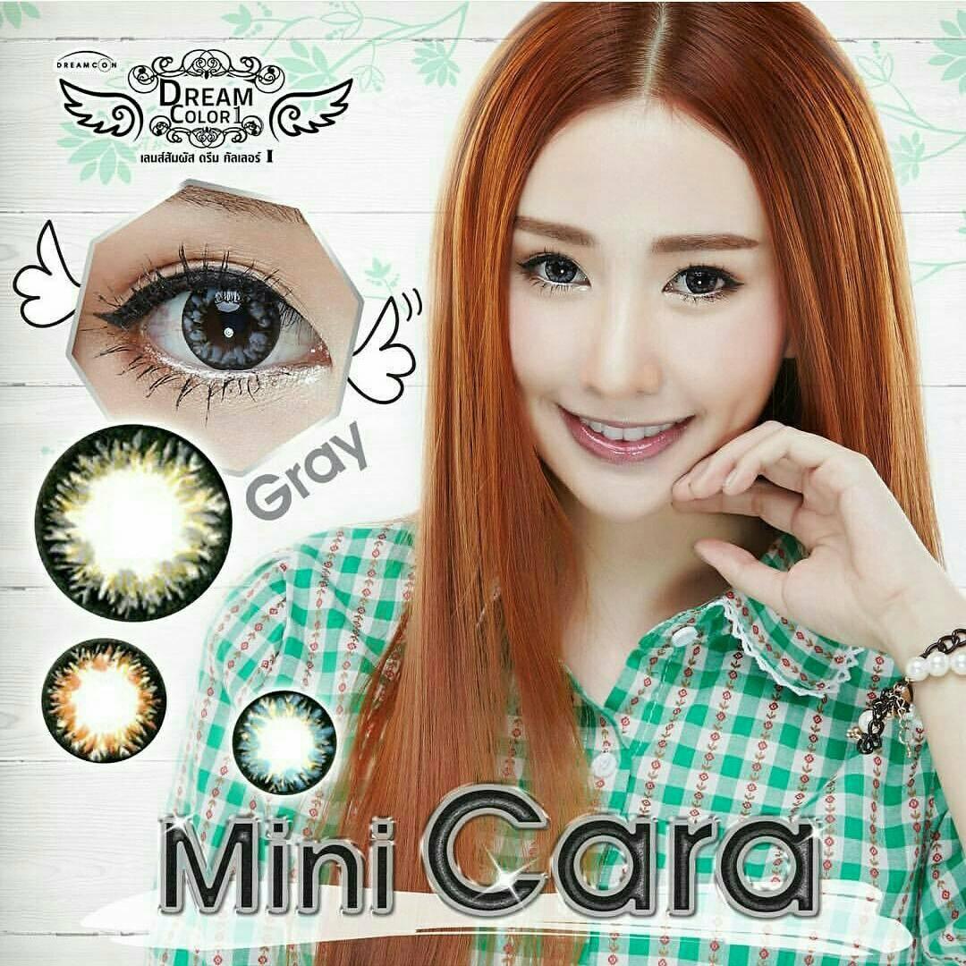 Mini Cara Gray Dreamcolor1เลนส์นิ่มใส่สบาย คอนแทคเลนส์ ขายส่งคอนแทคเลนส์ ขายส่งBigeye Bigeyeเกาหลี