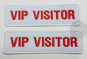 อาร์มปัก VIP VISITOR