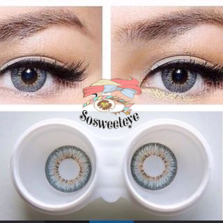 สั้น/power -325 PUFFY GRAY EYEBERRYLENS