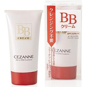 Cezanne All in One Foundation BB Cream SPF23 PA++ #03 Natural Beige สำหรับผิวขาวเหลือง พร้อมสรรพทั้งบีบีและกันแดดระหว่างวันค่ะ