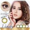 Lindy Brown Dreamcolor1เลนส์นิ่มใส่สบาย คอนแทคเลนส์ ขายส่งคอนแทคเลนส์ ขายส่งBigeye บิ๊กอายเกาหลี