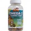 L'il Critters Omega-3 Gummy Fish / 120 Gummies