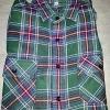 เสื้อลายสก๊อตสีเขียว-สีชมพู ราคา 150 บาท