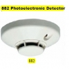 2-wire conventional photoelectric smoke detector,