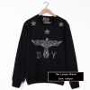 BOY LONDON EAGLE SKELETON SWEATSHIRT