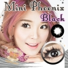 Mini Phoenix Black Dreamcolor1 คอนแทคเลนส์ ขายส่งคอนแทคเลนส์ Bigeyeเกาหลี ขายส่งตลับคอนแทคเลนส์