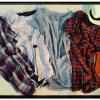 เสื้อผ้าฝ้ายลายสก้อตสไตล์ญี่ปุ่น เนื้อผ้านิ่มมากๆ