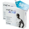 คุ้ม 2 กล่อง - เบิรนไขมันหน้าท้อง ควบคุมน้ำหนักด้วย Creatine ACTIV Men by Mc.Plus ผลิตภัณฑ์เสริมอาหารควบคุมน้ำหนัก ครีเอทีน แอคทีฟ บรรจุ 20 เม็ด 2 กล่อง