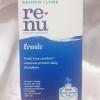 Renu fresh multi-purpose solution ขนาด 120 ml. น้ำยาล้างคอนแทคเลนส์ น้ำยาแช่คอนแทคเลนส์
