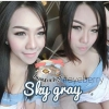 สั้น/power -325 SKY GRAY EYEBERRYLENS