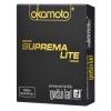 Okamoto Suprema Lite (ไซต์ 49 ขนาดเอเชีย) แถมยังบางกว่าถุงยางอนามัยไซต์เดียวกันในท้องตลาด ราคาพอเหมาะ (โอกาโมโต ซูพรีม่า ไลท์)
