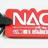 พวงกุญแจยางหยอด NACHI