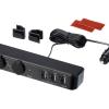 Socketเสริม 2 Socket 3 USB ติดเบาะ