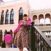 Dress ยาวทรง A สไตส์วินเทจ สีทอง เรียบหรูดูดี ราคา 150 บาท
