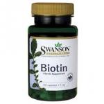 Swanson Premium Biotin 5 mg / 100 Caps