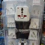 ปลั๊กไฟ TOSHINO รวมหัวแปลงต่างๆ