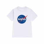 NASA MEATBALL LOGO WHITE T-SHIRT