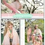 Furisode Kimono sweet pink#Minami กิโมโนฟูริโซเดะสีชมพู รุ่น Minami
