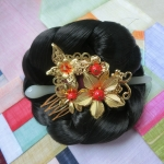Hanbok hair pin ที่ปักผมฮันบก รุ่นผีเสื้อกับดอกไม้
