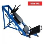 เครื่องบริหารขาและน่อง• SM-02 Leg Press & Hack Squat Machine