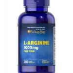 Puritan's Pride L-Arginine 1000 mg / 200 Caplets