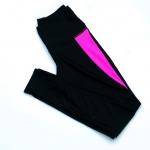 [Size S,M,L] กางเกง Legging ขายาว (สีดำแถบชมพู)