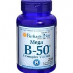 Puritan's Pride Vitamin B-50® Complex 50 mg / 250 Caplets