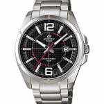 นาฬิกา คาสิโอ Casio Edifice 3-Hand Analog รุ่น EFR-101D-1A1V สินค้าใหม่ ของแท้ ราคาถูก พร้อมใบรับประกัน