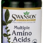 Swanson Premium Multiple Amino Acids 500 mg / 250 Caps