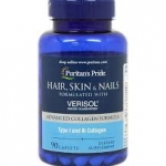 Puritan's Pride Hair, Skin and Nails formulated with VERISOL® / 90 Caplets