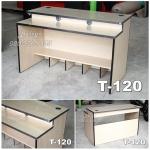 โต๊ะคอม Gamer Desk T-120 วางได้ 2 จอ