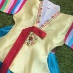 Hanbok Girl ฮันบกผ้าไหมชาววังงานพรีเมี่ยม สำหรับเด็ก 11 ขวบ