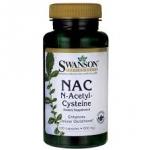 Swanson Premium NAC N-Acetyl Cysteine 600 mg / 100 Caps