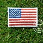 อาร์มปักธงอเมริกา