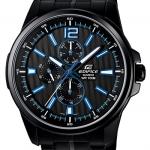 นาฬิกา คาสิโอ Casio Edifice Multi-hand รุ่น EF-343BK-1AV สินค้าใหม่ ของแท้ ราคาถูก พร้อมใบรับประกัน