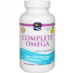 Nordic Naturals Complete Omega - Lemon 1,000 mg / 120 Sgels