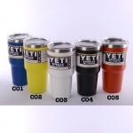 YETI Rambler แก้วเก็บความเย็น เก็บน้ำแข็ง 30 oz Model C แถมมือจับและหลอดโค้ง 1 อัน