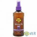 แทนนิ่งออยเปลี่ยนสีผิวแทนทองพร้อมปกป้องจากแสงแดด Banana Boat Protective Tanning Oil SPF15 236 ml